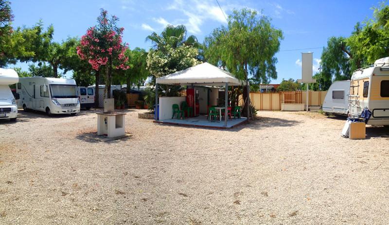 Oasi Camper Service Area Sosta Camper Gaeta
