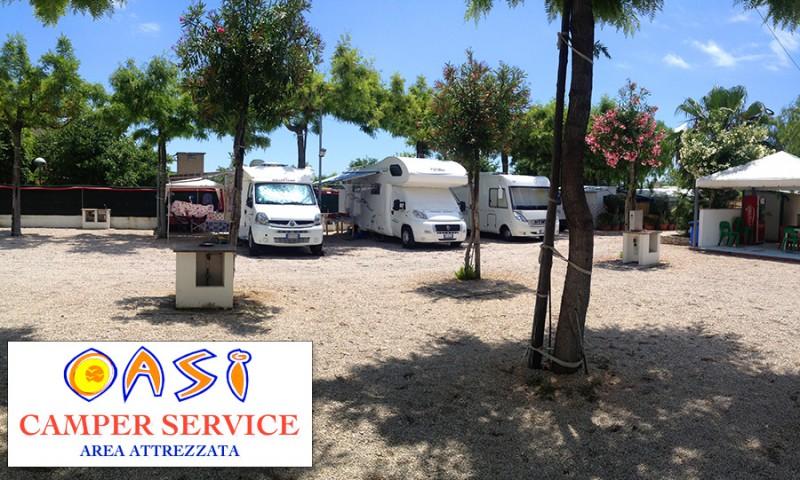 Oasi Camper Service Area Sosta Camper a Gaeta